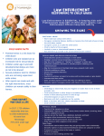 Law Enforcement Recognizing and Responding to Child Abuse Tip Sheet and Online Training